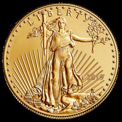 2019 1/4 oz Gold American Eagle Coin BU
