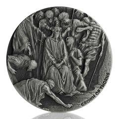 2019 2 oz Crown of Thorns Silver Coin - Biblical Series