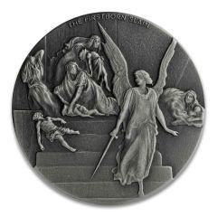 2019 2 oz The Firstborn Slain Silver Coin - Biblical Series