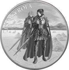 2019 South Korean ZI:SIN Scrofa Ghost Silver Coin 1 oz