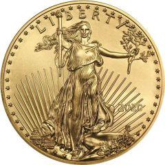 2020 1/10 oz American Gold Eagle Coin BU