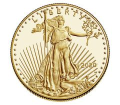 2020 1 oz American Gold Eagle Proof Coin
