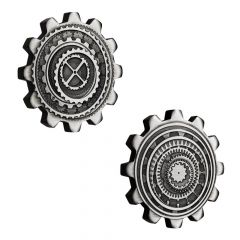 2020 1 oz Australian Silver Gear-Shaped Two-Coin Set (Antiqued)