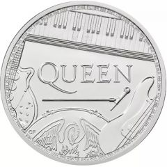 2020 1 oz British Music Legends Queen Silver Coin