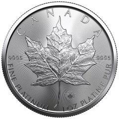2020 1 oz Canadian Platinum Maple Leaf Coin BU