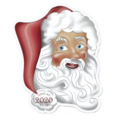 2020 1 oz Holiday Santa Silver Coin - Solomon Islands