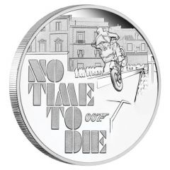 2020 1 oz James Bond No Time to Die Proof Silver Coin