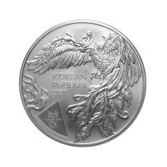 2020 1 oz South Korean Phoenix Silver Coin