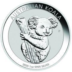 2020 1 oz Australian Silver Koala Coin BU