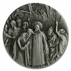 2020 2 oz Judas Kiss Biblical Silver Coin Series