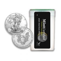 2020 American Silver Eagle Roll - MintCertified™