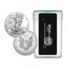 2020 (S) American Silver Eagle Roll - MintCertified™ FIRST30 Bridge Label