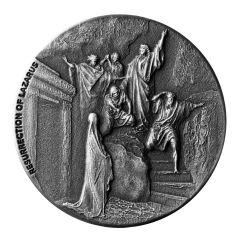 2020 2 oz Resurrection of Lazarus Biblical Silver Coin Series