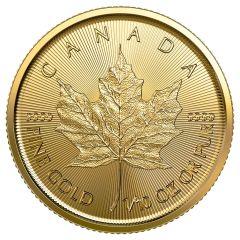 2021 1/10 oz Canadian Gold Maple Leaf Coin BU