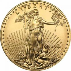 2021 1 oz American Gold Eagle Coin BU