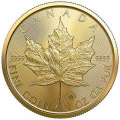 2021 1 oz Gold Maple Leaf Coin BU