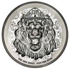2021 1 oz Roaring Lion Silver Coin