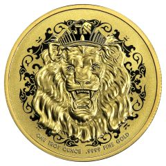 2021 1 oz Roaring Lion Proof Gold Coin