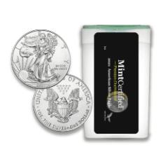 2021 American Silver Eagle Roll - MintCertified™