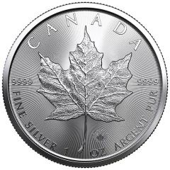2021 Silver Maple Leaf Coin BU