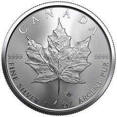2021 Silver Maple Leaf Coin BU