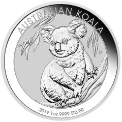 2019 1 oz Perth Mint Koala Silver Coin