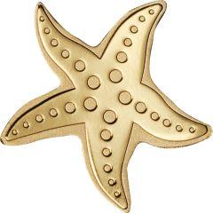 CIT Gold Starfish 0.5 Gram Coin