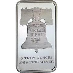 5 oz SD Bullion Proclaim Liberty Silver Bar