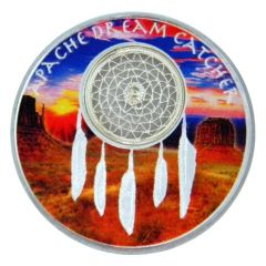 2017 Apache Dreamcatcher Silver Coin - Proof Finish