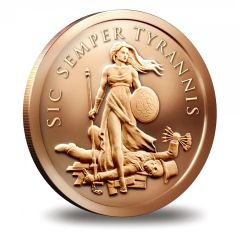 SBSS Copper Sic Semper Tyrannis