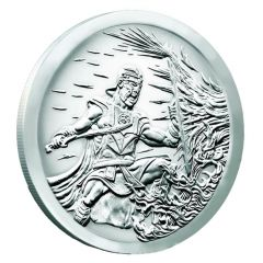 2017 Silver Shield Crucible MiniMintage 1 oz Silver Round