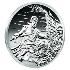 2017 Silver Shield Crucible MicroMintage Proof 2 oz