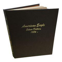 American Silver Eagle 1986-2020 Complete Set in Dansco Album