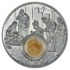 2018 Silver In The Footsteps of Jesus - Bethlehem 1 oz Proof Coin