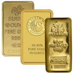 10 oz Gold Bar - Our Choice Brand