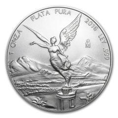 2016 1 oz Silver Mexican Libertad Coin