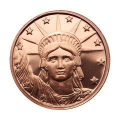Liberty Head 1 oz Copper Round - Osborne Mint