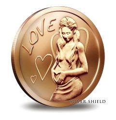 Silver Shield Love 1 oz Copper
