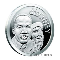 2017 Silver Shield Martin Luther King Jr. - disOBEY Series