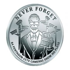2017 Silver Shield Pentagon CCTV - Never Forget Series