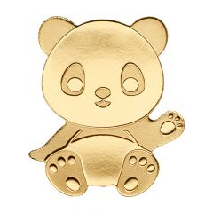 CIT Palau Gold Little Panda 0.5 Gram Coin