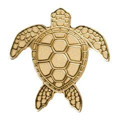 CIT Palau Gold Sea Turtle 0.5 Gram Coin