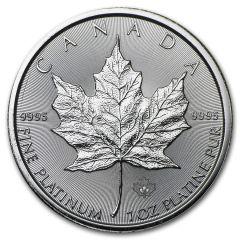 2016 1 oz Canadian Platinum Maple Leaf Coin