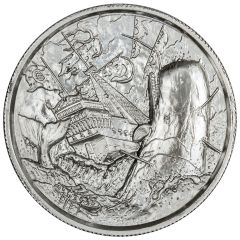 White Whale Privateer Ultra High Relief Silver Round 2 oz