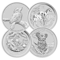 1 Kilo Silver Coins - Random Design