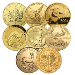 1 oz Gold Coins - Random Design