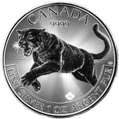 2016 1 oz Silver Cougar - RCM Predator Series
