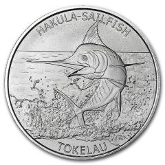 2016 Tokelau 1 oz Silver Hakula Sailfish