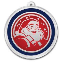 Santa Claus - Silver Holiday Round 1 oz