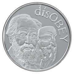 2017 Silver Shield Solzhenitsyn MiniMintage 1 oz Silver Round - disOBEY Series